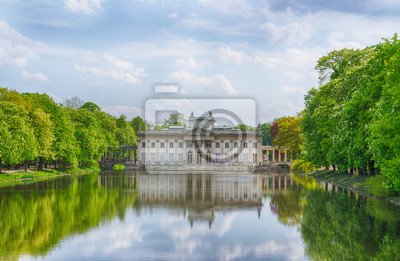 Warschau Lazienki Park Polen Fototapete Fototapeten Sommer