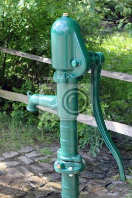 Wasserpumpe Handpumpe Fototapete Fototapeten Wasserversorgung