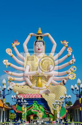 Fototapete Wat Plai Laem