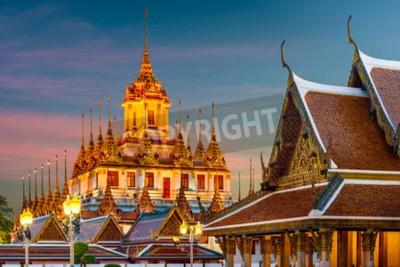 Fototapete Wat Ratchanatdaram