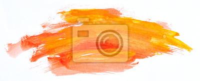 Fototapete Watercolour paint strokes