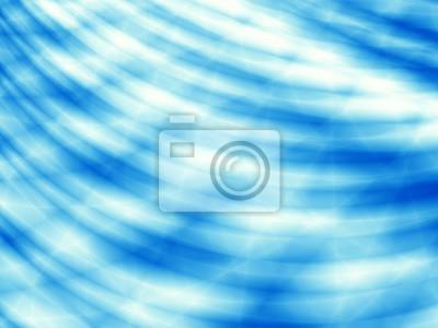 Wave Blaue Tapete Ozean Abstrakte Vorlage Hintergrund Fototapete