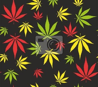 Fototapete Weed Muster