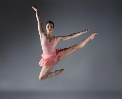 Fototapete Weiblich Ballett-Tänzer