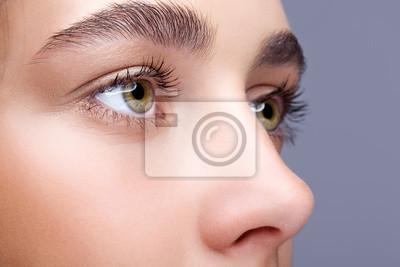 Fototapete Weibliche Gesicht Make-up
