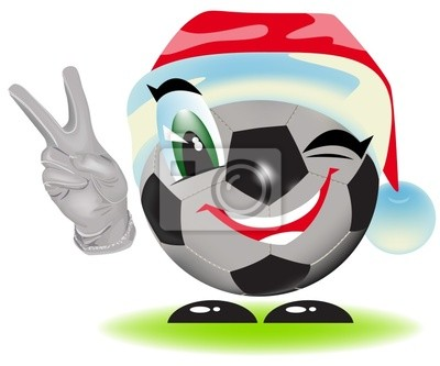 Weihnachten Fussball Fototapete Fototapeten Talisman
