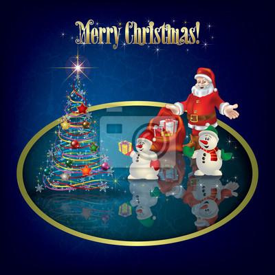 Weihnachten Grunge Hintergrund mit Dekorationen