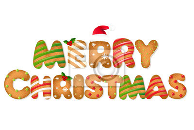 Weihnachten Lebkuchen Text