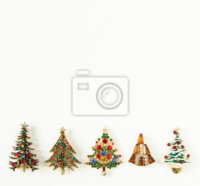Schmuck Weihnachten.Fototapete Weihnachten Thema Damenschmuck Vintage Schmuck Hintergrund