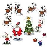Weihnachts Clipart Fototapete Fototapeten Rudolph Geschenkkarton