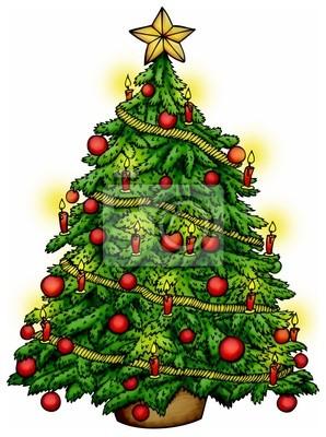 Weihnachtsbaum Weihnachten.Fototapete Weihnachtsbaum Christbaum Tannenbaum Weihnachten