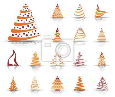 Weihnachtsbaum orange