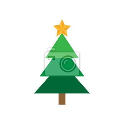 Stern Auf Weihnachtsbaum.Weihnachtsbaum Mit Stern Festliche Weihnachtsbaum