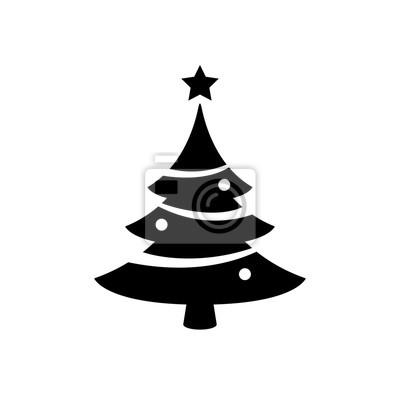 Symbol Weihnachtsbaum.Fototapete Weihnachtsbaum Symbol