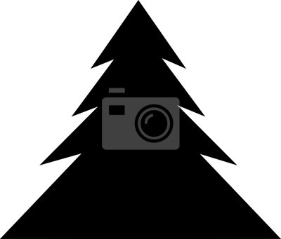 Weihnachtsbaum Schwarz Weiß.Fototapete Weihnachtsbaum Symbol Weihnachtsbaum Vektor Symbol Weihnachtsbaum