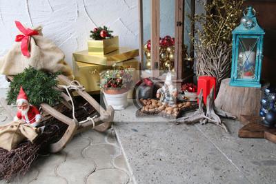 Beautiful Weihnachtsdeko Vor Der Haustür Pictures - Kosherelsalvador ...