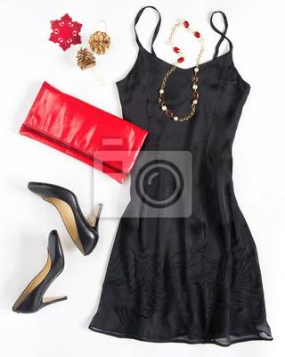 Weihnachtsfeier outfi. cocktailkleid outfit, nacht aussehen auf ...