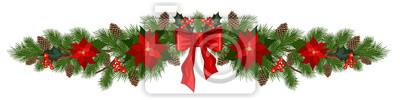 Fototapete Weihnachtsferien Dekorationen