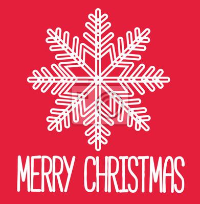 Frohe Weihnachten Brief.Fototapete Weihnachtskarte Frohe Weihnachten Dekorative Karte Brief Weiss