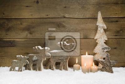 Holz Weihnachtskarten.Fototapete Weihnachtskarte Holz Natürlich Als Weihnachtlicher Hintergrund