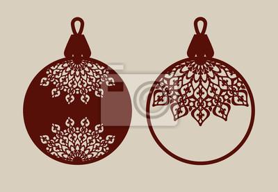 Weihnachtskugel Mandala Kostenlos Ausdrucken 9