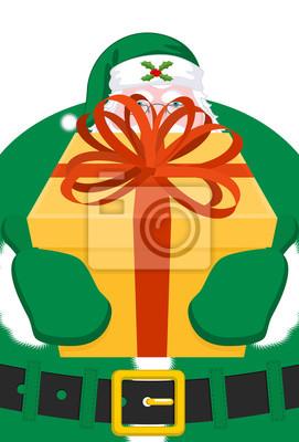 Frohe Weihnachten Irisch.Fototapete Weihnachtsmann Irland Daidi Na Nollag Irische Sprache Weihnachten