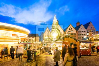 Weihnachtsmarkt Frankfurt Am Main.Fototapete Weihnachtsmarkt Frankfurt Am Main