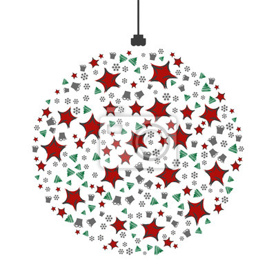 Weihnachtsmotiv Weihnachtskarte Fototapete Fototapeten