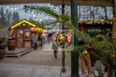 Weihnachtsbaum Girlande.Fototapete Weihnachtsskizzen Weihnachtsbaum Girlande