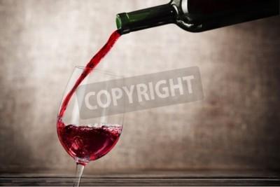 Fototapete Wein.