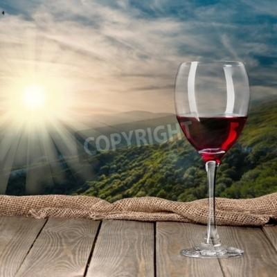 Fototapete Weinflasche, Wein, Flasche.