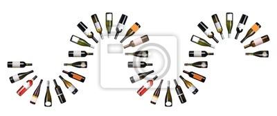 Weinflaschen