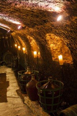 Fototapete Weinkeller in Velka Trna, Tokaj Wein-Region, Slowakei