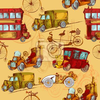 Weinlese-Transport Seamless