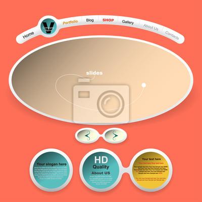Weinlese-Web-Design