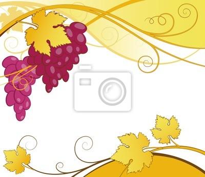Weinreben abstrakt