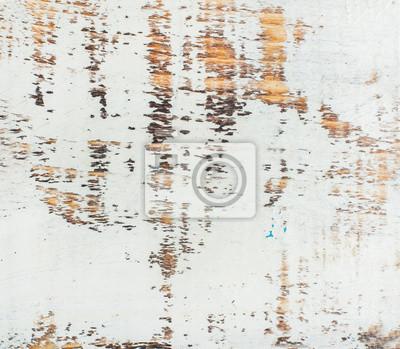 Weiss Gemalt Alten Rustikalen Schabigen Holz Textur Und Hintergrund