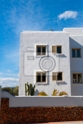 Weiss Mediterrane Hauser In Javea Alicante Fototapete Fototapeten