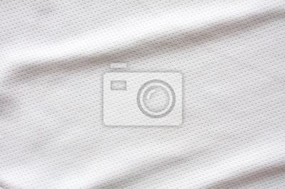Fototapeten • Weiß Hockey Trikot Sportbekleidung Stoff Fototapete qwI6XrI