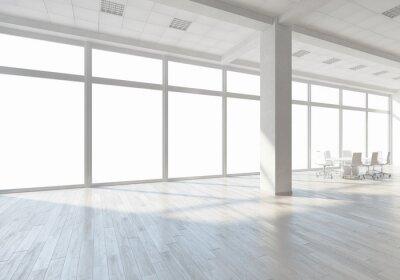 Fototapete Weiße Büroinnenraum