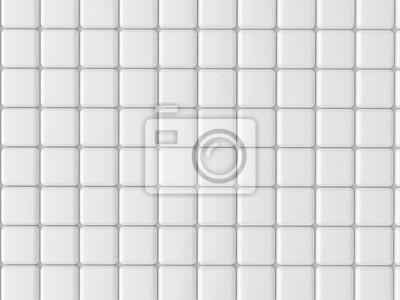 Super Weiße fliesen textur fototapete • fototapeten Innenräume, schöne GD24