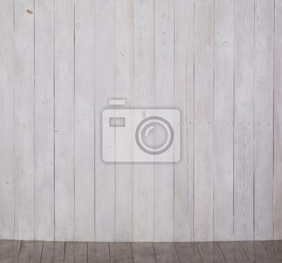 Weisse Holzwand Und Weisser Holzboden Fototapete Fototapeten