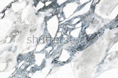 Fototapete Weiße Marmorbeschaffenheit mit natürlichem Muster für Hintergrund