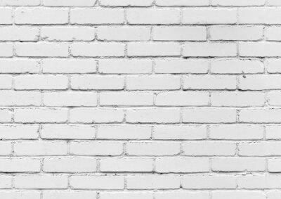 Fototapete Weiße Mauer, nahtlose Hintergrundtextur