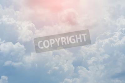 Fototapete Weiße Wolke bedeckt Himmel, bewölkt dramatischen Himmel, abstrakte Himmel Hintergrund