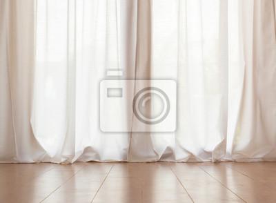 Weißer Vorhang Fototapete Fototapeten Appartment Drapieren