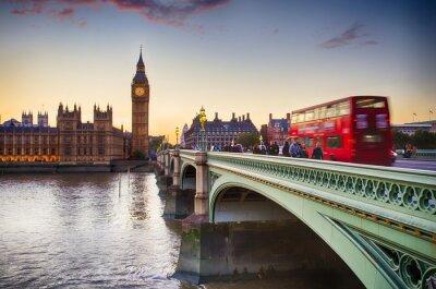 Fototapete Westminster Bridge