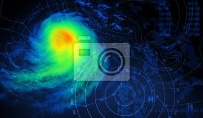 Fototapete Wetter und Sturm