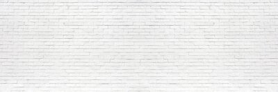 Fototapete white brick wall may used as background