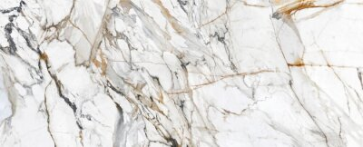 Fototapete White Cracked Marble rock stone marble texture wallpaper background